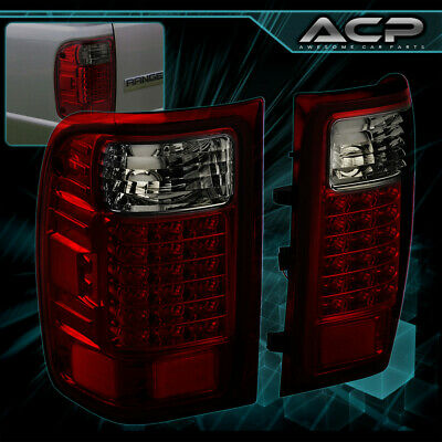 $105.99 • Buy For 01 02 03 04 05 06 07 08 09 10 11 Ford Ranger Smoke Red Tail Lights Lamps Set