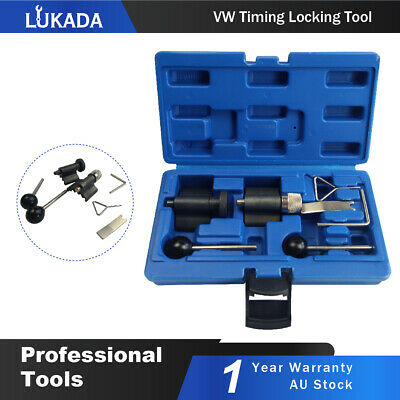 AU24.99 • Buy Crank Locking Timing Tool Kit For VW 1.2 1.4 1.9 2.0 TDi PD Audi Diesel Engine