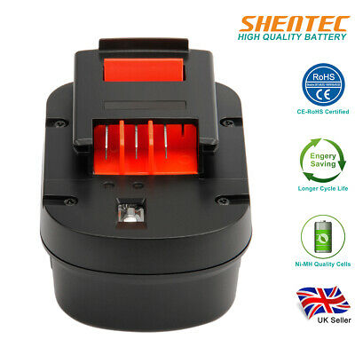 3.0AH 12V Ni-MH Battery For Black Decker A12 A12-XJ A1712 CP122K Firestorm FS120 • 18.95£