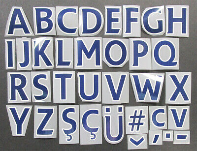 £1.10 • Buy 2013 2017 OFFICIAL SPORTING ID PREMIER LEAGUE NAVY LETTERS 52mm = PLAYER SIZE