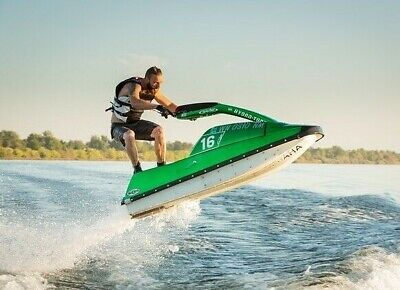 AU143.50 • Buy Trailerable PWC / Jet Ski COVER - 340cm To 370cm   Heavy Duty Fabric GREAT VALUE
