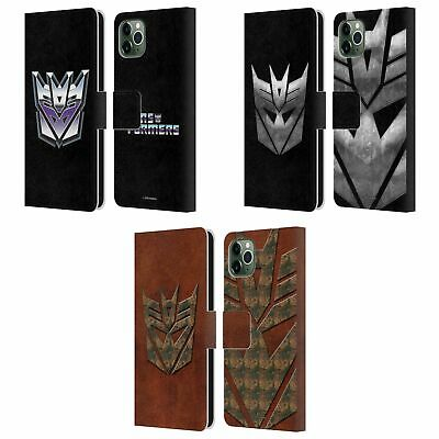 £17.95 • Buy TRANSFORMERS DECEPTICONS LOGO ART LEATHER BOOK CASE FOR APPLE IPHONE PHONES