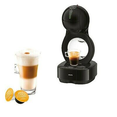 $180.90 • Buy KRUPS KP1308 Nescafe Dolce Gusto Lumio Black Capsule Coffee Machine Genuine