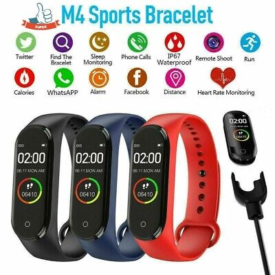 $ CDN8.55 • Buy Mi Band 4 Global Version Bluetooth Sport  Smart Watch Amoled Wristband Health