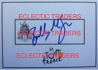 £27.31 • Buy Bradley McGee SIGNED Tour De France Cycling Card. Olympic GOLD MEDALLIST! Bike.