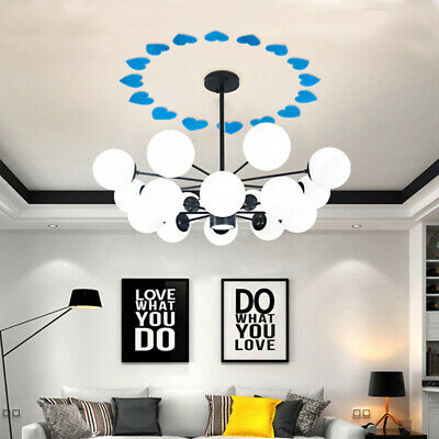 Acrylic Heart Shaped Mirror Wall Sticker Mural Removable Stickers Home Decor 6A • 2.74£