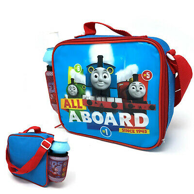 Thomas The Tank Engine 'All Aboard' Insulated Lunch Bag With Bottle • 12.99£