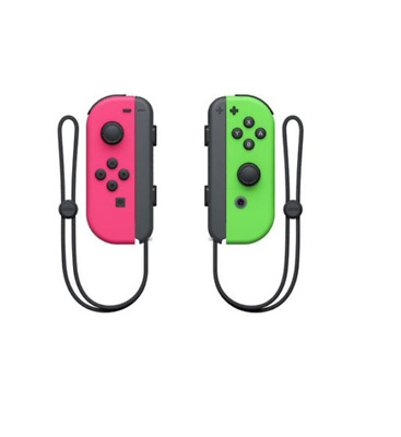 $72.98 • Buy OFFICIAL NINTENDO SWITCH Joy-Con (Neon Pink / Neon Green) - Brand New