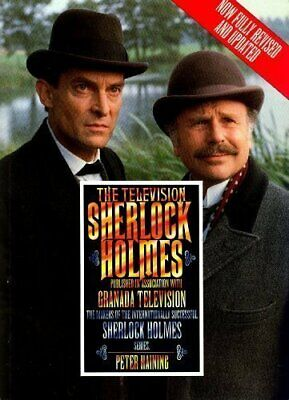 The Television Sherlock Holmes By Haining, Peter Paperback Book The Cheap Fast • 39.99£