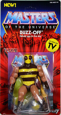 $44.40 • Buy Masters Of The Universe ~ VINTAGE-STYLE BUZZ-OFF ACTION FIGURE ~ MOTU SUPER 7
