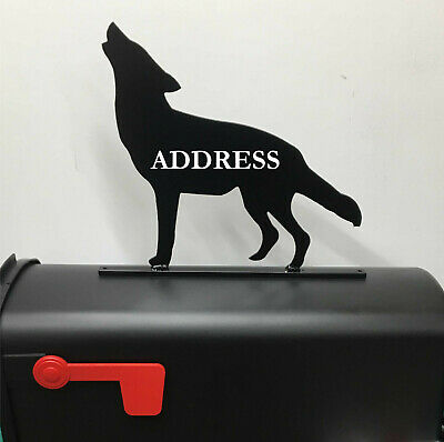 $24.95 • Buy Wolf Mailbox Topper Mb39