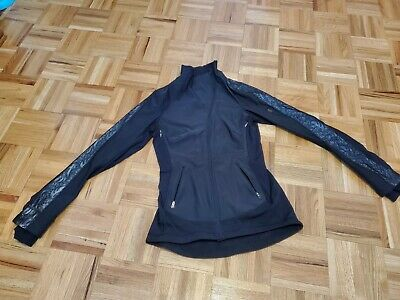 $ CDN275 • Buy Lululemon Size 2 Black Draft Doger Jacket With Reflective Lace And Accents