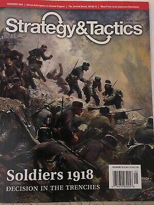 Strategy & Tactics Magazine And Game Soldiers 1918 Unpunched • 27.35$