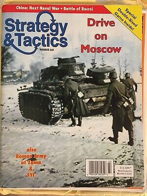 Strategy & Tactics 244 Magazine And Game Drive On Moscow Unpunched • 37.35$