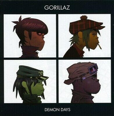 Gorillaz : Demon Days CD Value Guaranteed From EBay's Biggest Seller! • 1.96£