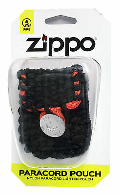 $8.69 • Buy Zippo Paracord Pouch 40467 Belt And Clip Loops New