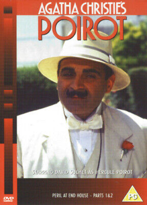 Agatha Christie's Poirot: Peril At End House - Parts 1 And 2 DVD (2003) David • 2.98£