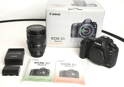 $ CDN1342.49 • Buy Canon EOS 5D Mark II Digital SLR Camera With EF24-105mm F/4L IS USM Kit