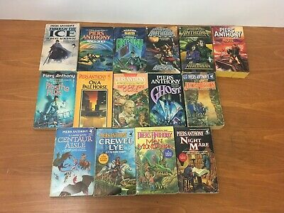 Lot 15 Piers Anthony Books Vintage Paperback PBs Xanth Science Fiction Fantasy • 14.99$