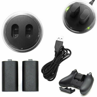 $15.10 • Buy For XBOX ONE Controller Play Charging Dock Cable + 2x Rechargeable Battery Pack