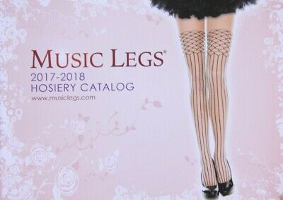 2017 - 2018 Music Legs Hosiery Lingerie Fashion Catalog Catalogue • 2.79$