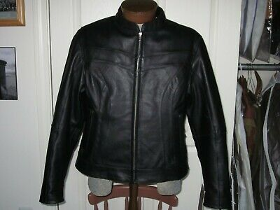 Women's Street And Steel Motorcycle Jacket Leather • 95$