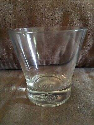 Crown Royal Lowball Whiskey Old Fashioned Tapered Glass Pillow Crown Italy • 2$