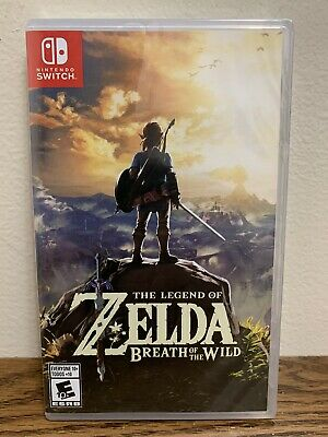 Legend Of Zelda: Breath Of The Wild (Nintendo Switch 2017) Brand New • 51.99$