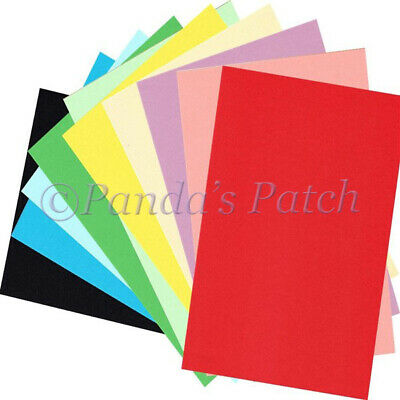 £3.79 • Buy A4 Coloured Craft Card Approx 290gsm - Choose Colour And Pack Size Free P&P