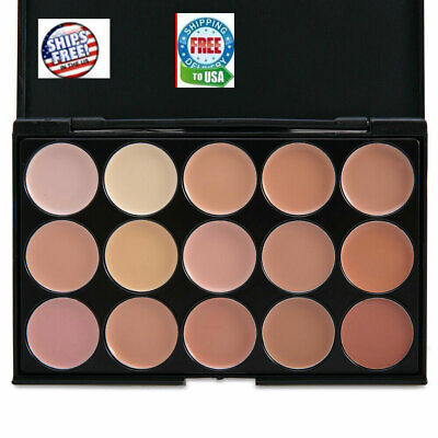 $5.59 • Buy 15 Colors Professional Foundation Concealer Contour Palette Cosmetic # 2  Sponge