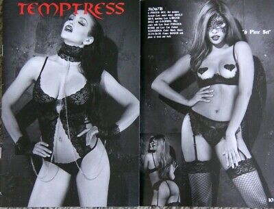 Temptress Lingerie Fashion Catalog Catalogue • 1.99$