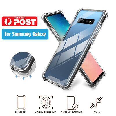 AU5.99 • Buy Samsung Galaxy S20 S10 S9 S8 Plus Slim Clear Cases Shockproof Cover