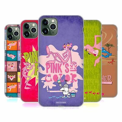 OFFICIAL THE PINK PANTHER PINK FUN SOFT GEL CASE FOR APPLE IPHONE PHONES • 12.95£