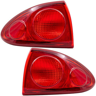 $90.85 • Buy Tail Lights Set Fits 2003-2005 Chevrolet Cavalier Pair Quarter Mounted Taillamps