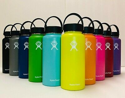 Hydro Flask Water Bottle Stainless Steel & Vacuum Insulated With Flex Cap_32oz • 29.99$