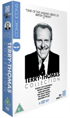 Ian Carmichael, Alastair Sim-Terry-Thomas Collection: Comic Icons DVD NEW • 24.75£