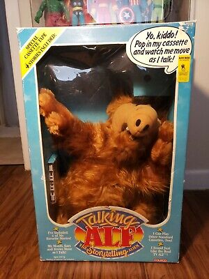 Vtg 1987 Coleco Talking Alf Doll The Storytelling Alien Toy New In Box  • 110$