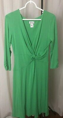 Lilly Pulitzer  Danni  Green 3/4 Sleeve Dress Sz: Medium • 35$