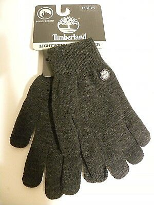 $8.99 • Buy TIMBERLAND Touch Screen Lightweight Computer & Cell Phone Men's Gloves - New