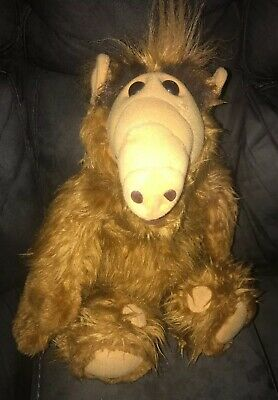 """Vintage ALF 1986 Alien Productions 18"""" Inch Plush Doll Stuffed Animal Coleco  • 39$"""