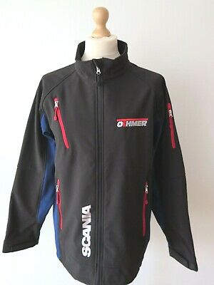 £59.95 • Buy Official Genuine SCANIA Trucks Men's Stretch Soft Shell Jacket Size 4XL-3XL NEW