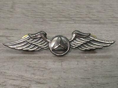 Gemsco Sterling Silver Jewelry Lapel Pin WWII Civil Air Patrol CAP Wings Pilot • 9.99$
