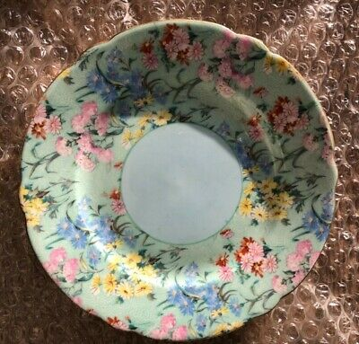 Shelley Melody 7  Tea Plates X 6 Mint Condition • 60£