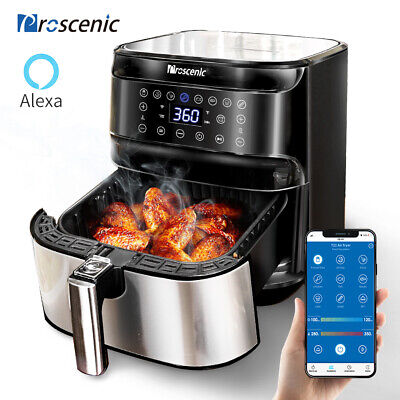 View Details Alexa Air Fryer APP Cooker Oven Low Fat Healthy 5.5L 1700W Oil Free Frying Litre • 89.99£