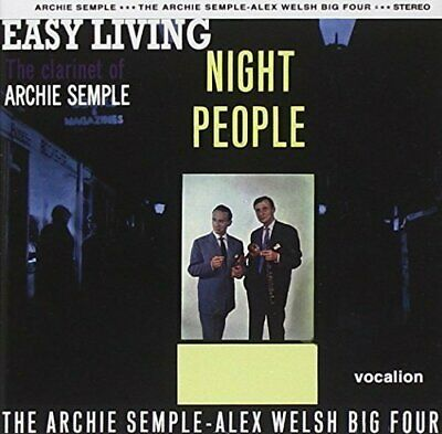 Alex Welsh - Night People & Easy Living - Alex Welsh CD DWVG The Cheap Fast Free • 6.98£