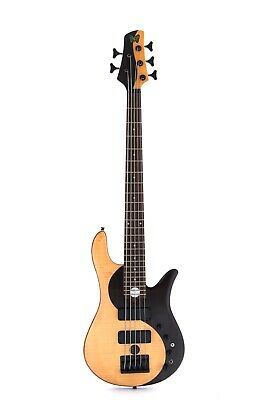$ CDN476.59 • Buy Yinyang 5 Strings Electric Bass Guitar Rosewood Top Complicated Technology 24F