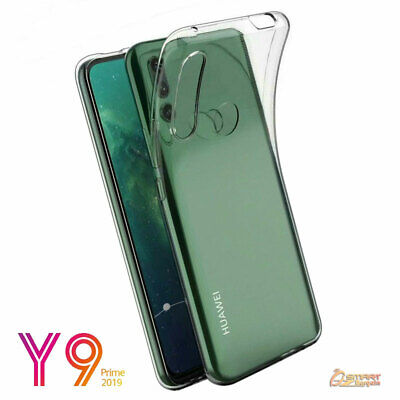 AU4.59 • Buy Clear TPU Gel Jelly Rubber Soft Skin Case Cover For Huawei Y9 Prime 2019
