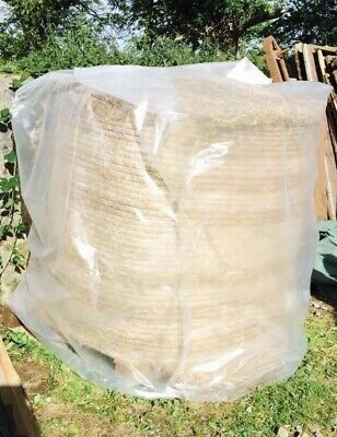 £17.99 • Buy bale Cover  Hay Round Large Big  Straw 5ft Plastic Waterproof Horse Squar Nets