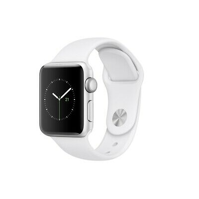 $ CDN262.25 • Buy Open Box Apple Watch Series 2 38mm Silver Aluminum Case White Band MNNW2LL/A