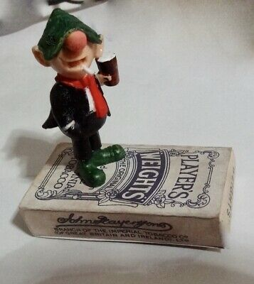 Vintage Andy Capp  Figure  Schleich  Standing On Vintage Weights  Cigarettes  • 12£